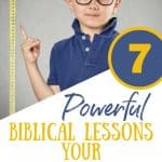 Short little boy - TItle: powerful biblical lessons for a short child